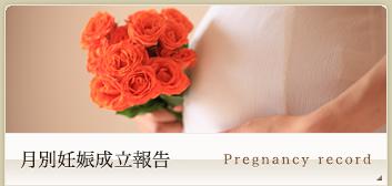 月別妊娠成立報告